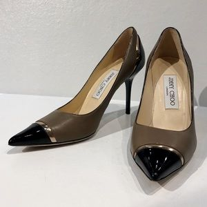Authentic Jimmy Choo colorblock heels size 36